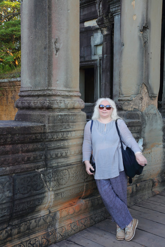 Камбоджа. У Ангкор Вата - Tatiana Belyatskaya