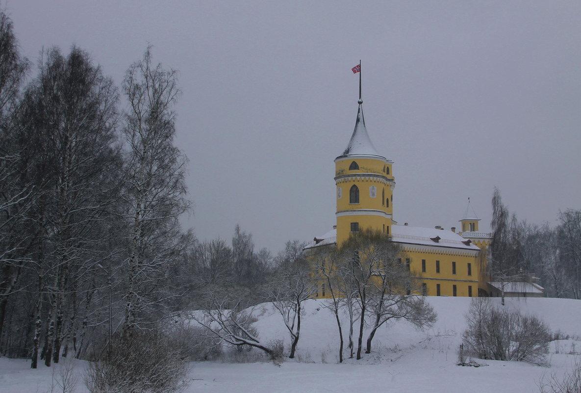 Снежный замок.... - Tatiana Markova