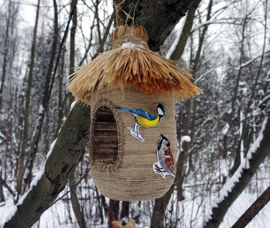 Кормушки для птичек своими руками яплакал 33