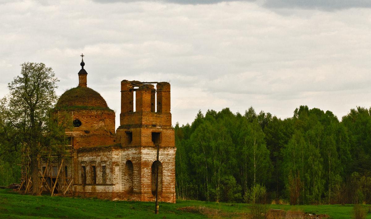 Церковь в деревне Елисеевичи - Александр Березуцкий (nevant60)