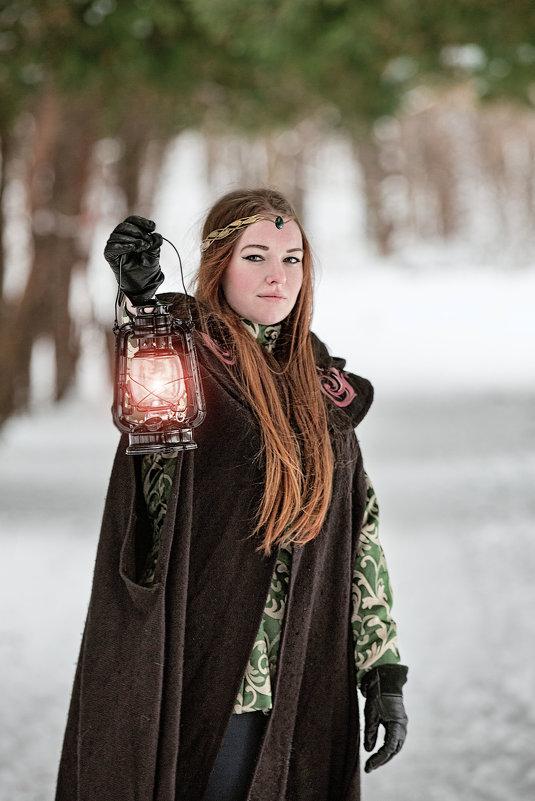Лучик света в зимнем царстве... - Сергей Гутерман