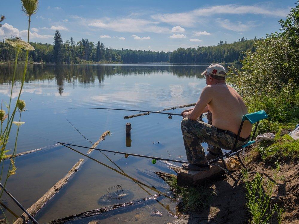 озеро слевидовское рыбалка
