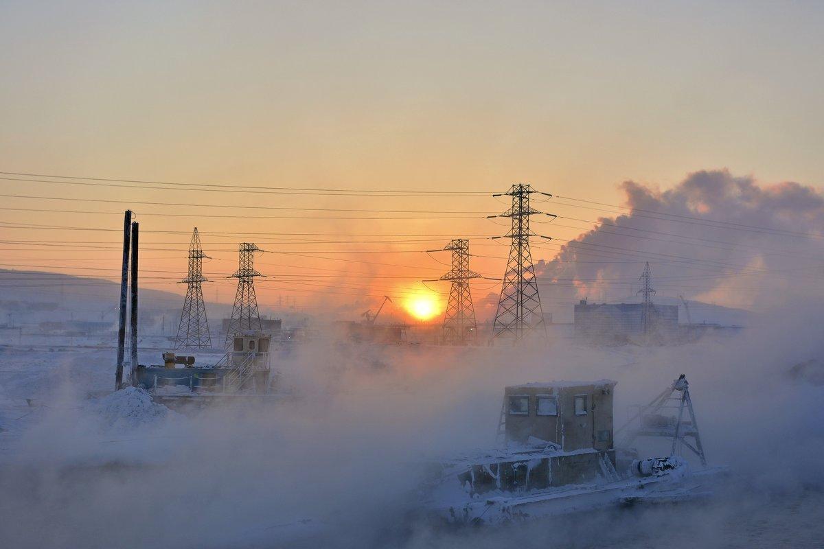 Закат на замороженной земле... - Витас Бенета