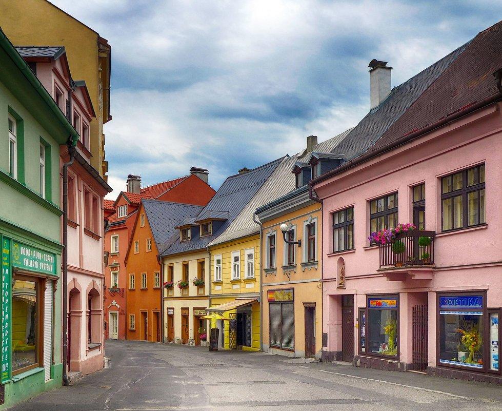 В маленьком чешском городке - Евгений Кривошеев