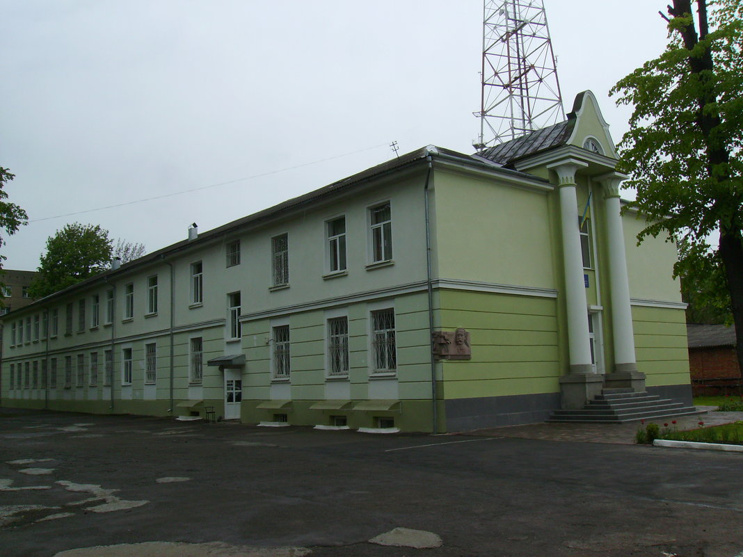 Музыкальное   училище  в   Ивано - Франковске - Андрей  Васильевич Коляскин