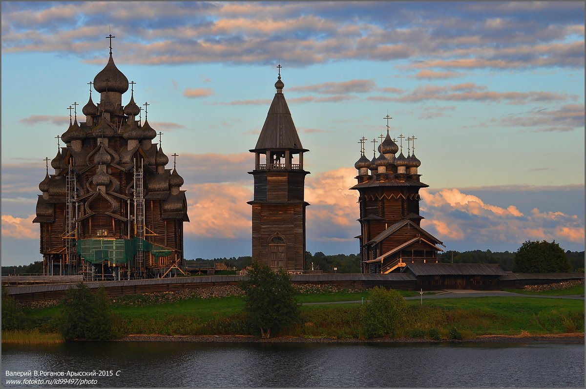 ВЕЧЕР В КИЖАХ - Валерий Викторович РОГАНОВ-АРЫССКИЙ