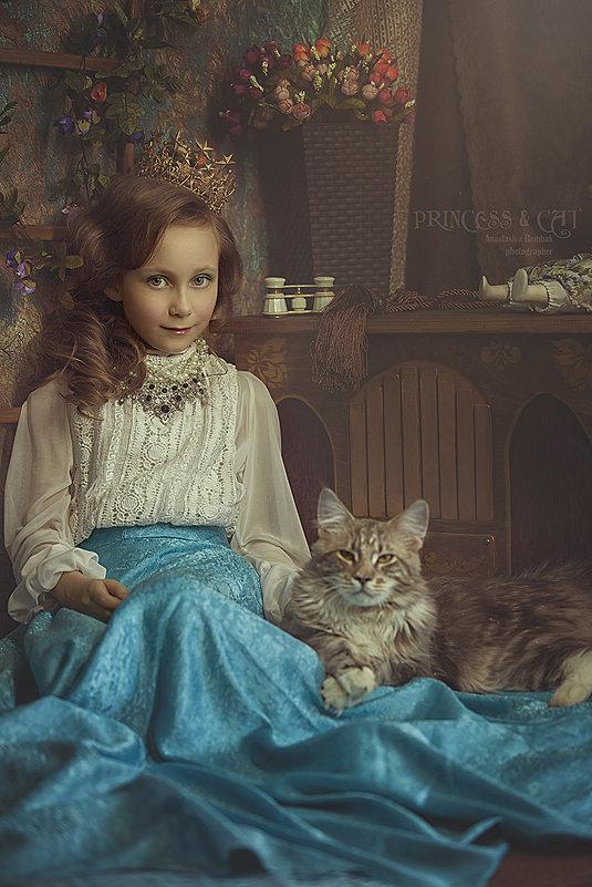 Princess&cat - Анастасия Бембак