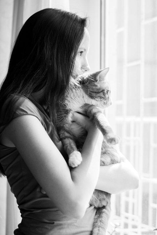 Она и кот - Ольга Лапшина