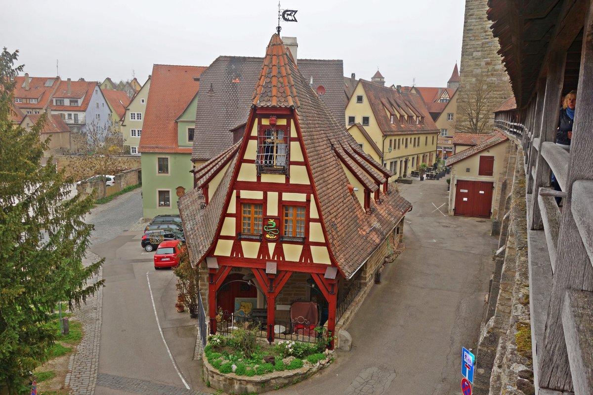 Ротенбург на Таубере - это настоящий средневековый город... - Galina Dzubina