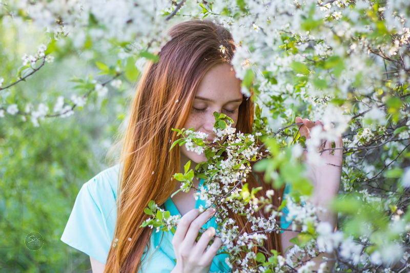 Фотосессия в весеннем саду - Руслан Кокорев