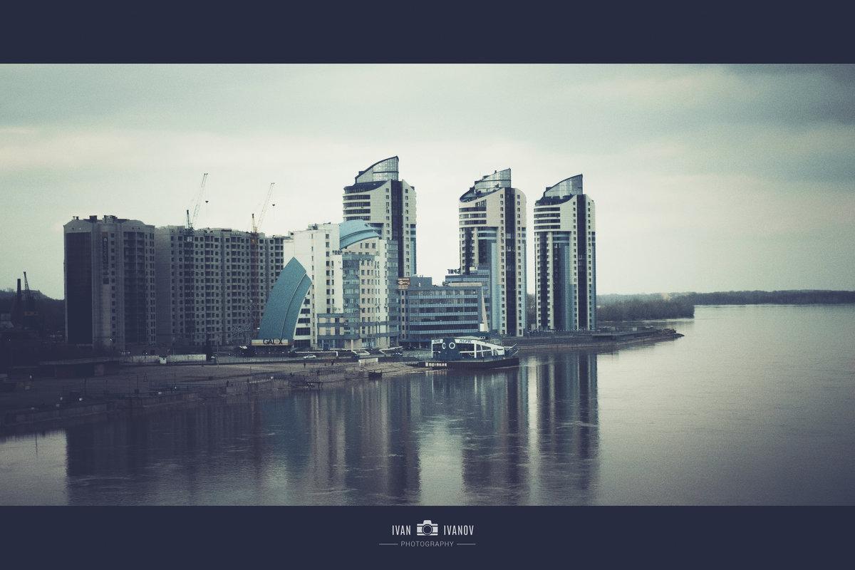 Речной вокзал Барнаула - Иван Иванов