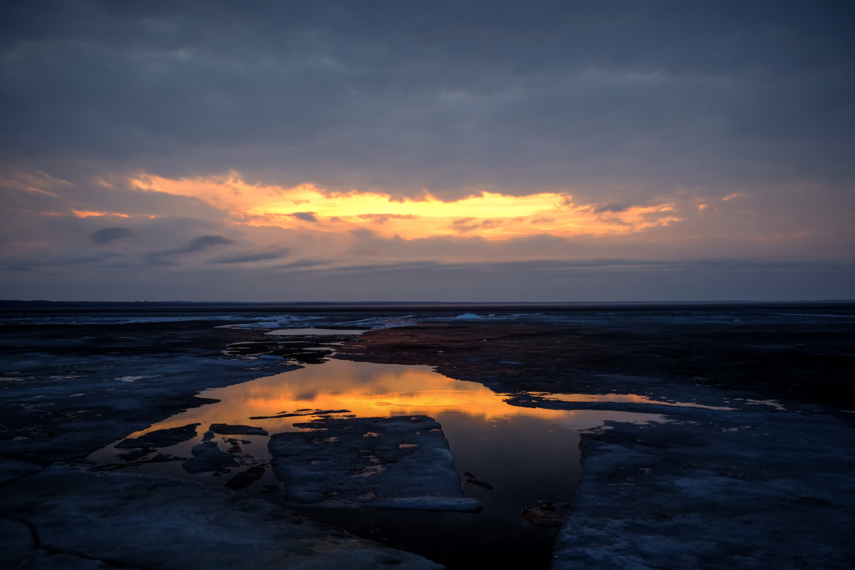Закат над Плещеевым озером - A_Performance ...