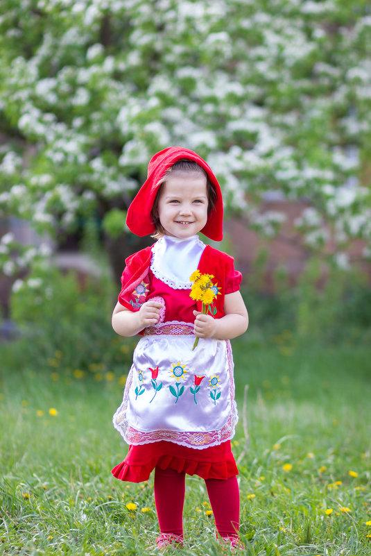 Красная шапочка - Дина Горбачева