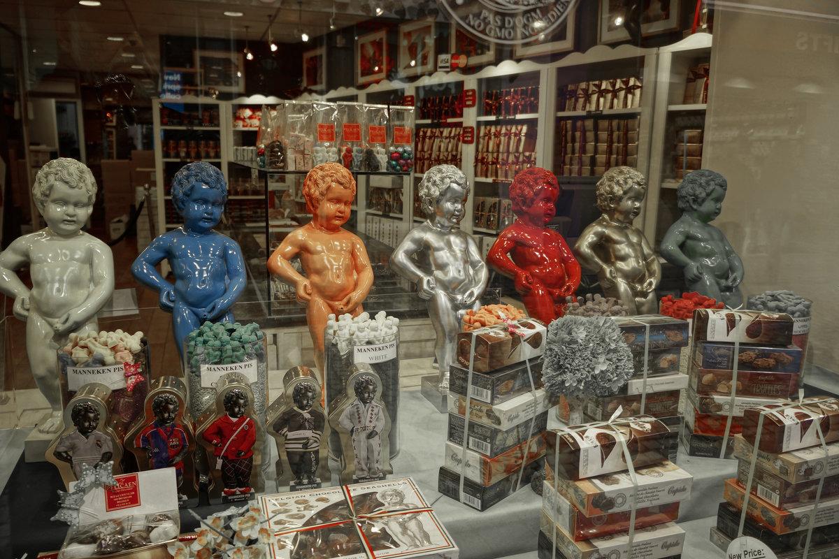 Писающие мальчики в Брюсселе - Борис Соловьев