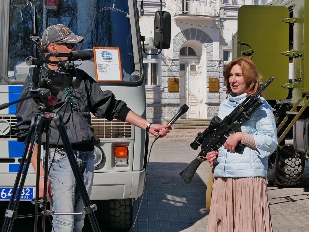 репортаж с оружием в руках - Андрей Козлов