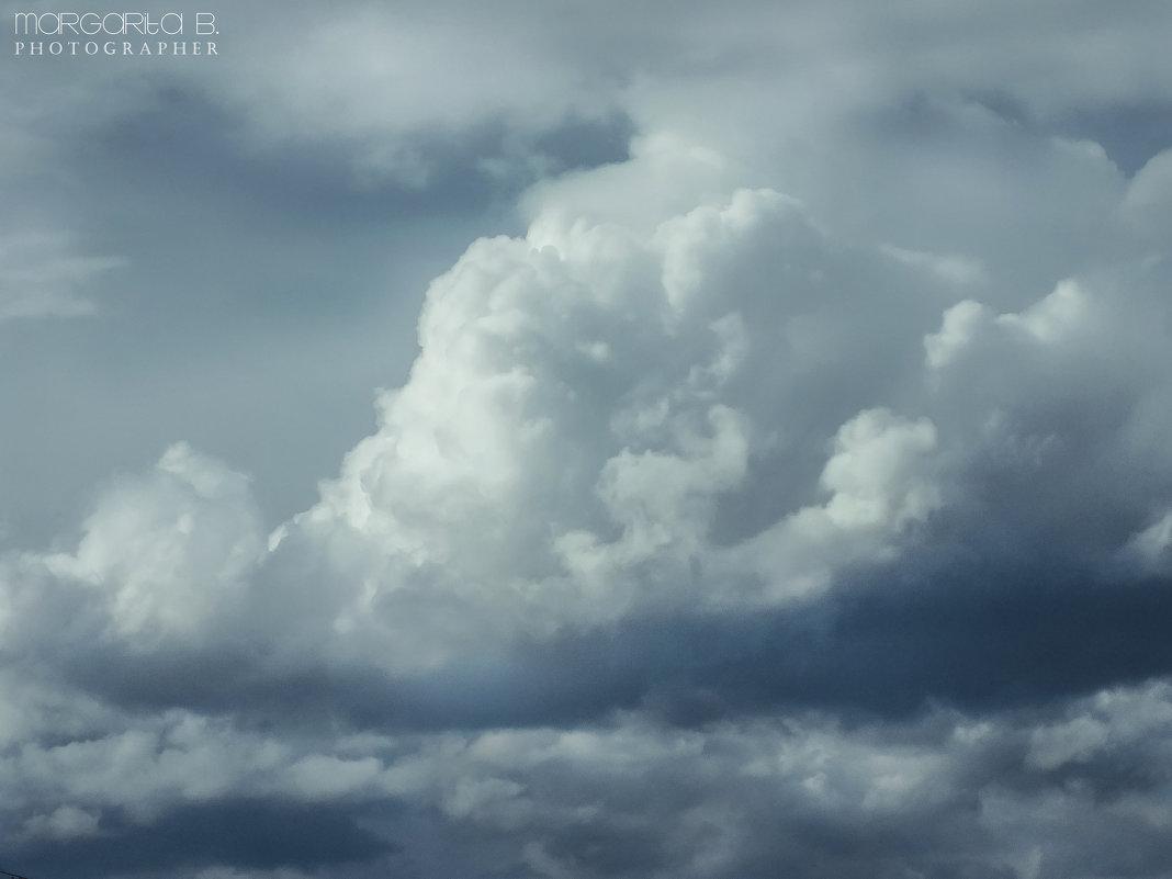 Сказочное небо с ватными облаками - Маргарита Б.