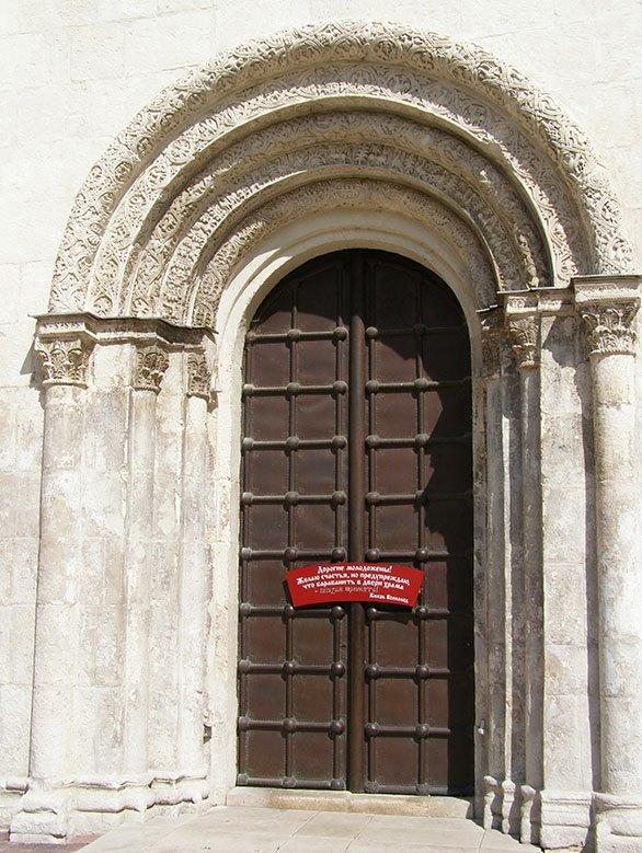Дверь Дмитриевского собора - Анна Воробьева
