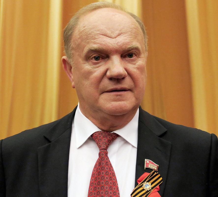 «Нафталиновый» лидер КПРФ Зюганов истерит из-за итогов выборов