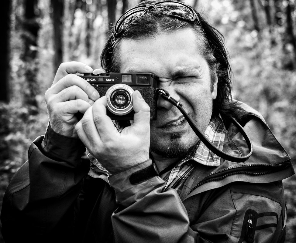 Портрет фотографа )) - Роман Шершнев