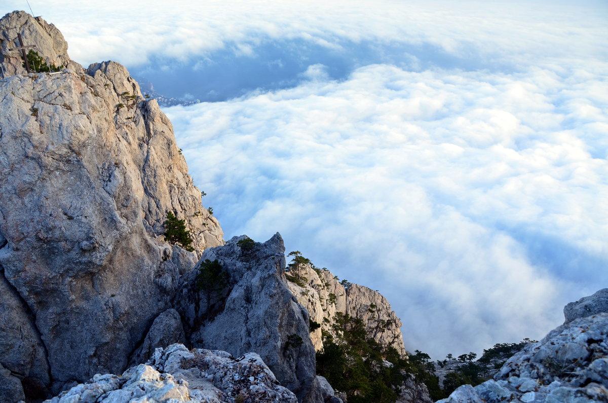 Прогулка над облаками - Ольга Голубева