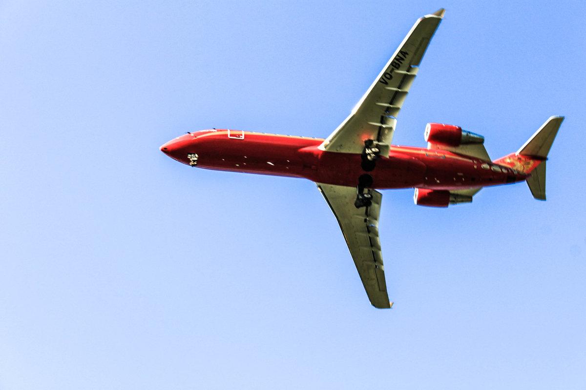 самолет заходит на посадку - Тот-Самый Санек