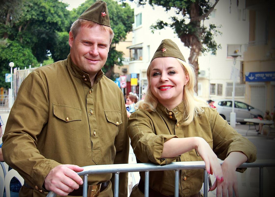 Участники концерта для ветеранов. - Николай Волков
