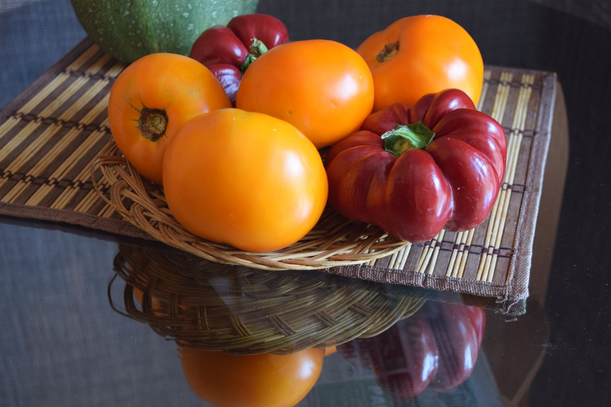 помидор апельсин и перец - Юрий
