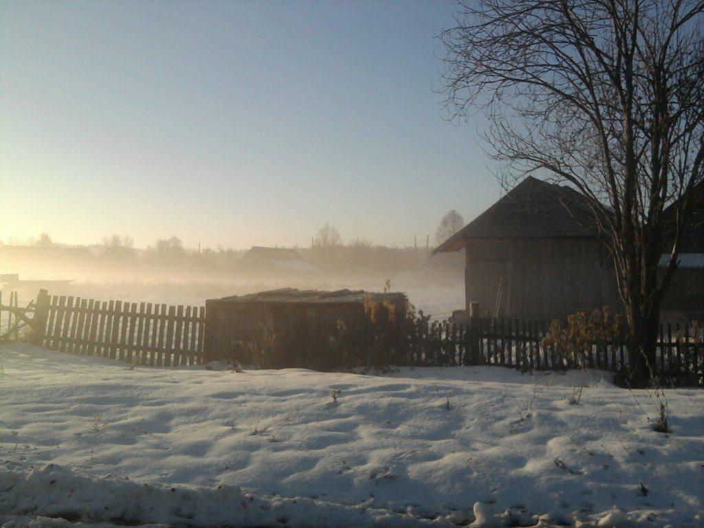Улица в тумане. - Марина Китаева