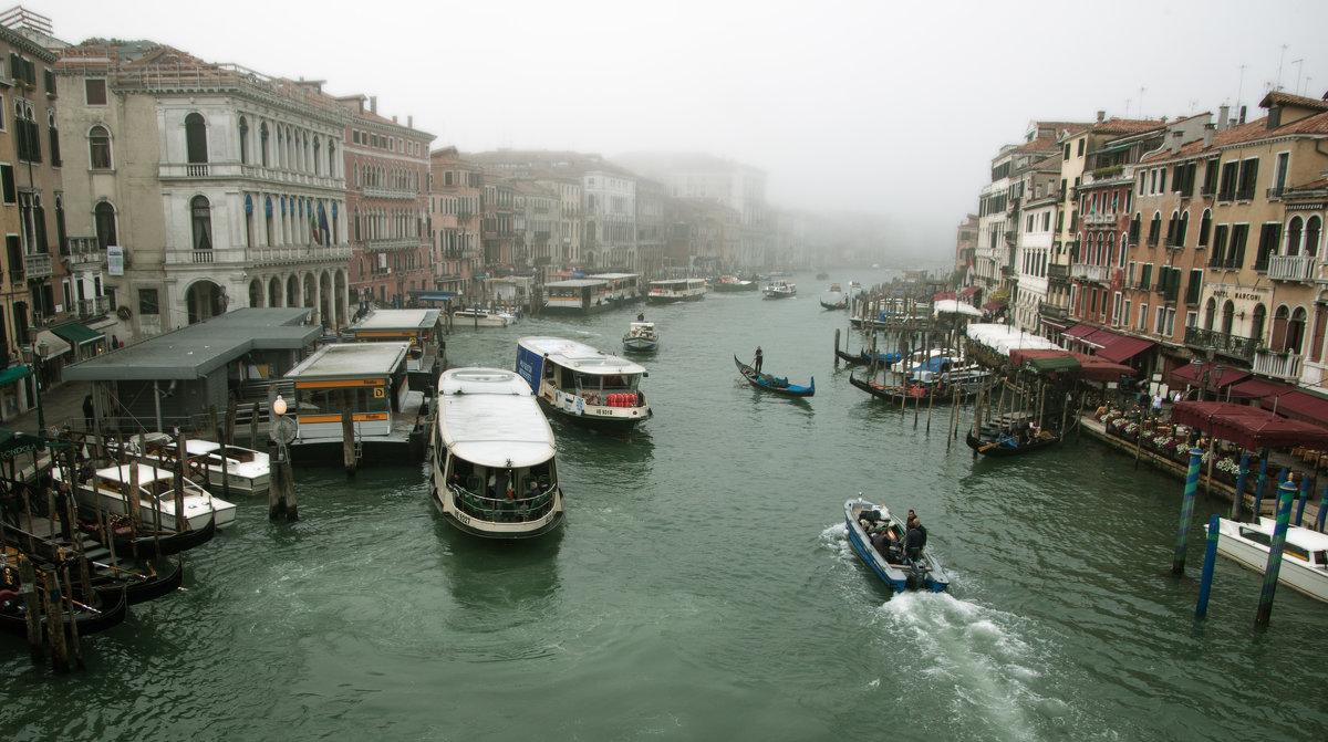 Туманным утром в Венеции - liudmila drake