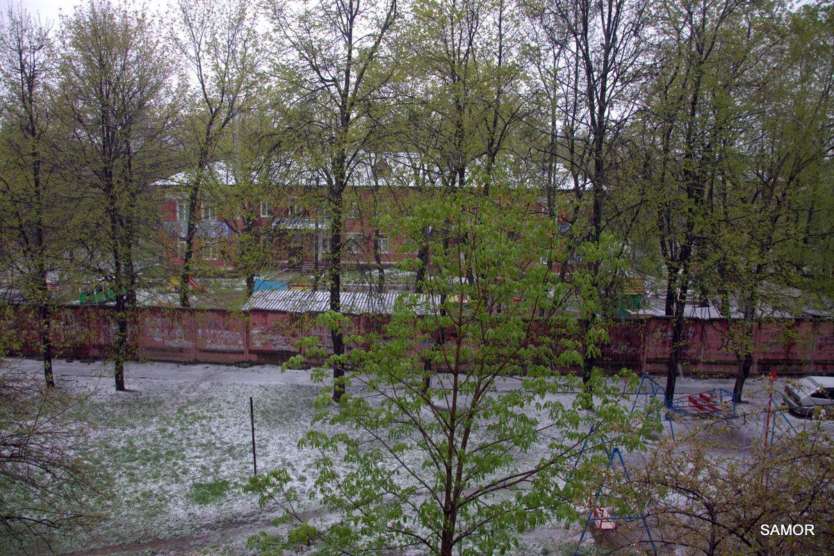 снег 8 мая - Валерий Самородов
