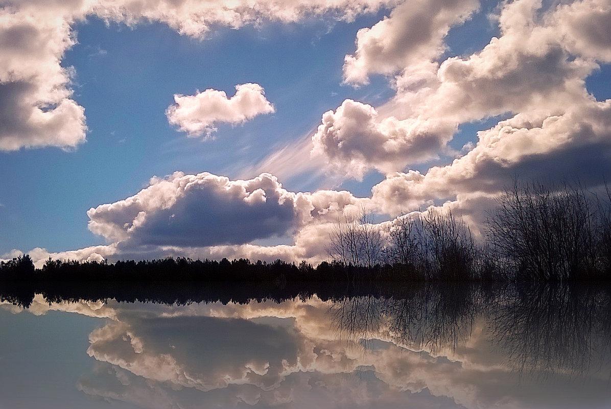 облачность и отражение... - ВладиМер