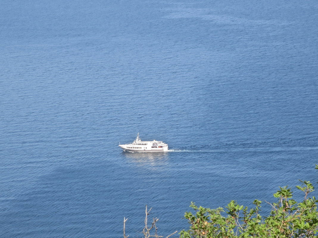 белый корабль - Елена
