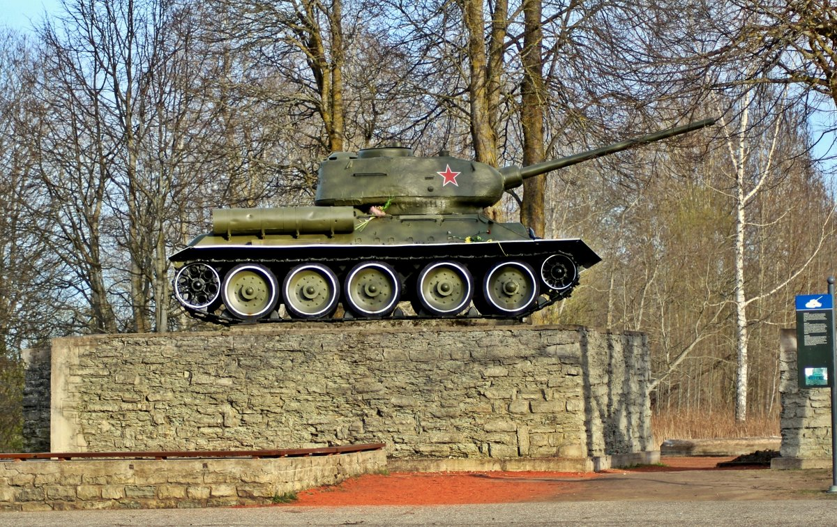 Танк Т-34 - Marina Pavlova