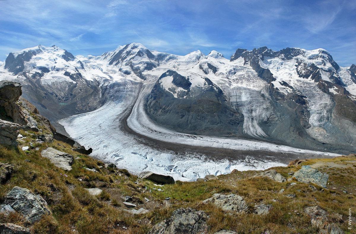 панорама ледников - Elena Wymann