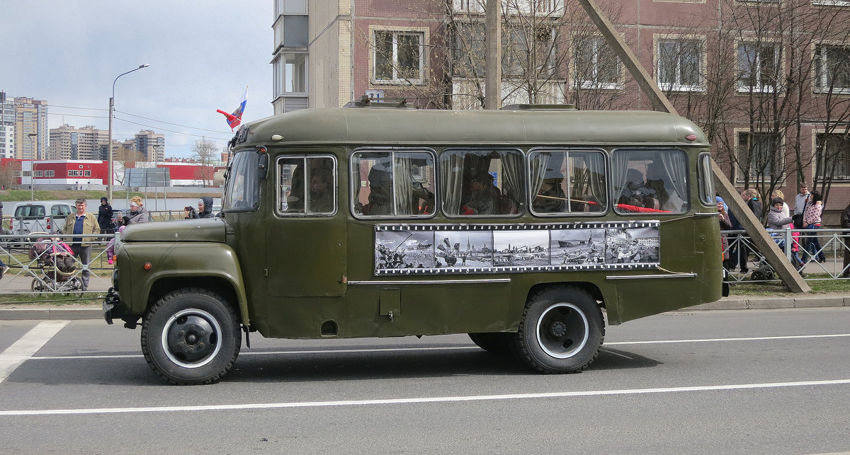 Автобус с Ветеранами Великой-Отечественной Войны. - Валентина Жукова
