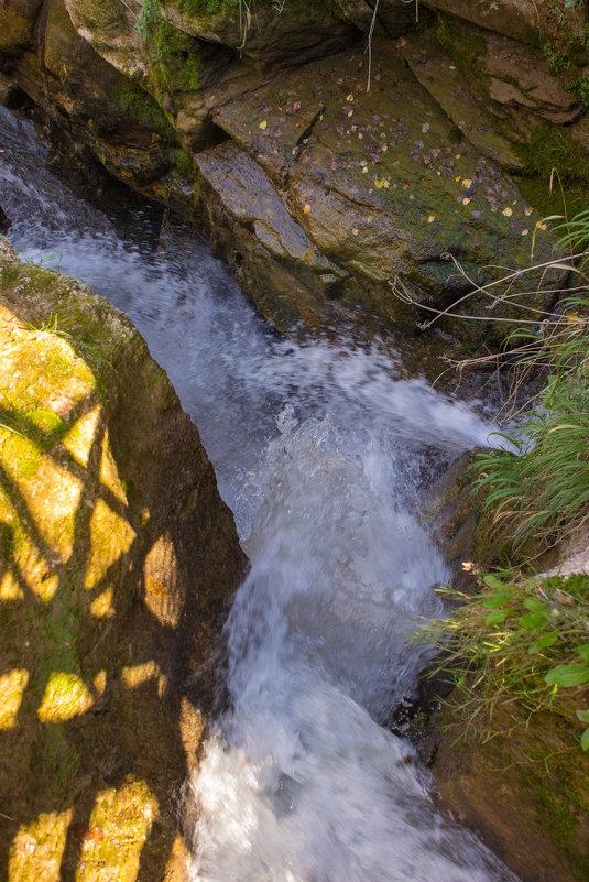 Маленький водопад - Татьяна