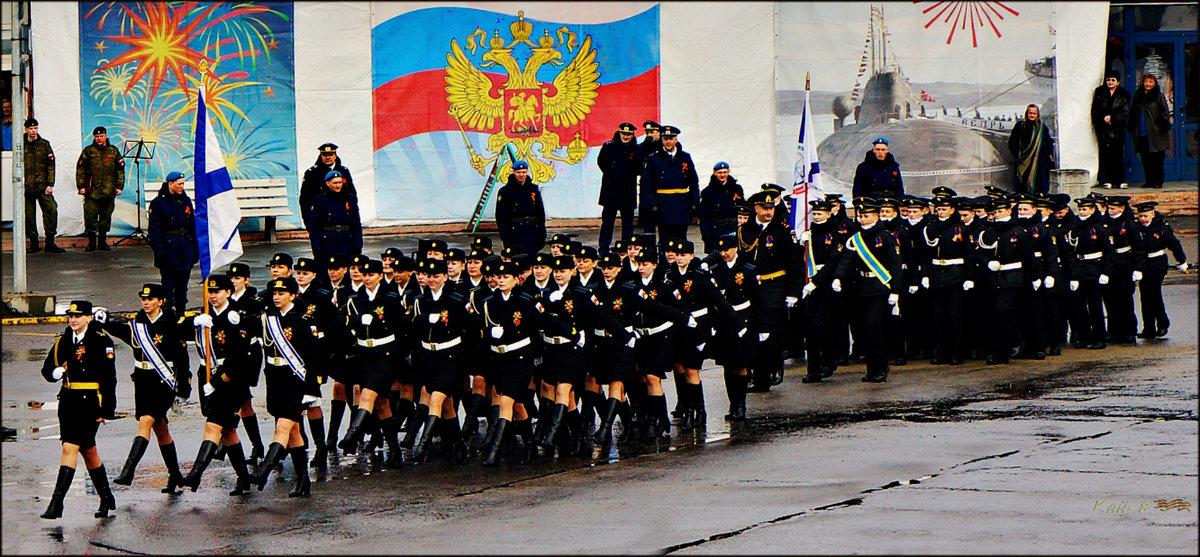 Мамы и сыновья в одном парадном строю - Кай-8 (Ярослав) Забелин