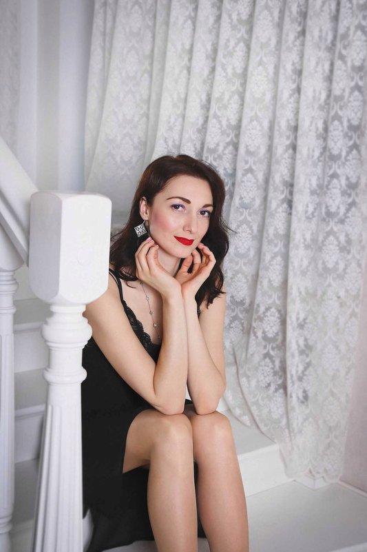 Студийная фотосъемка девушки - Нина Потапова
