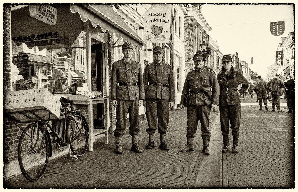Немцы в городе - Андрей Бойко