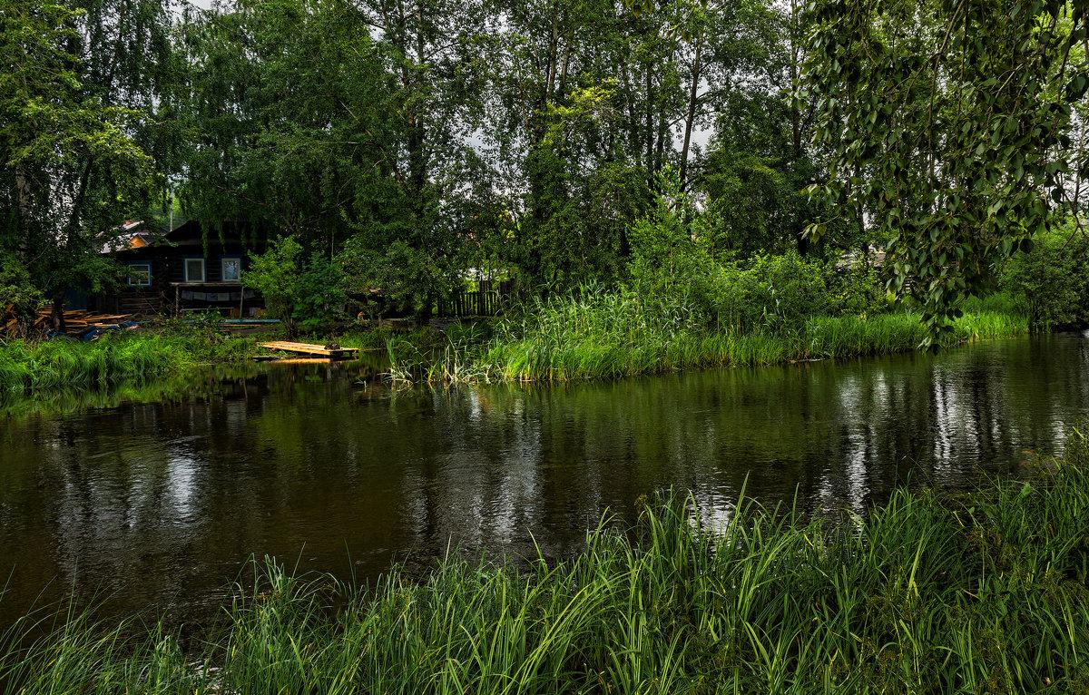 Домик у реки - vladimir Bormotov