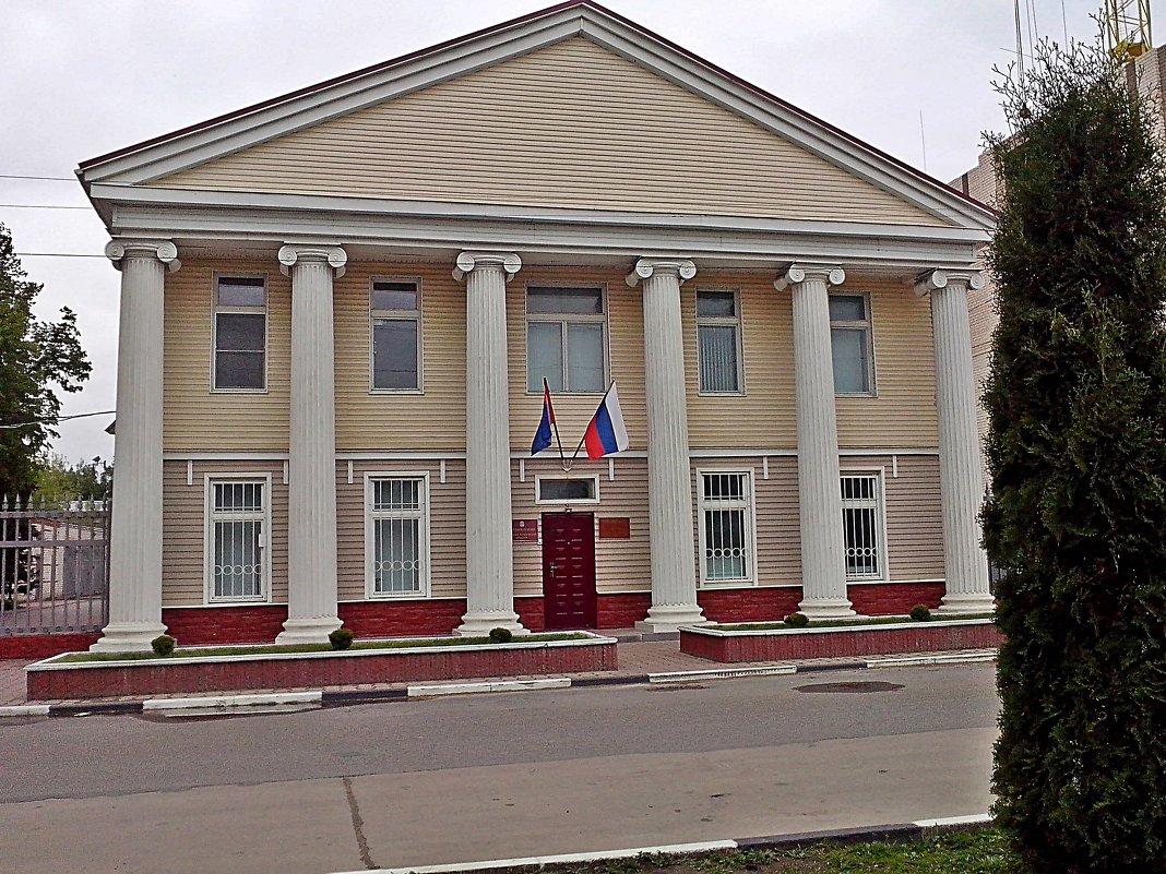 """Здание""""Управления лесами Тамбовской области"""" - Виталий Селиванов"""