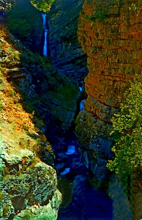 КУЛОСЬЯ, водопад, низ. - Виктор Осипчук