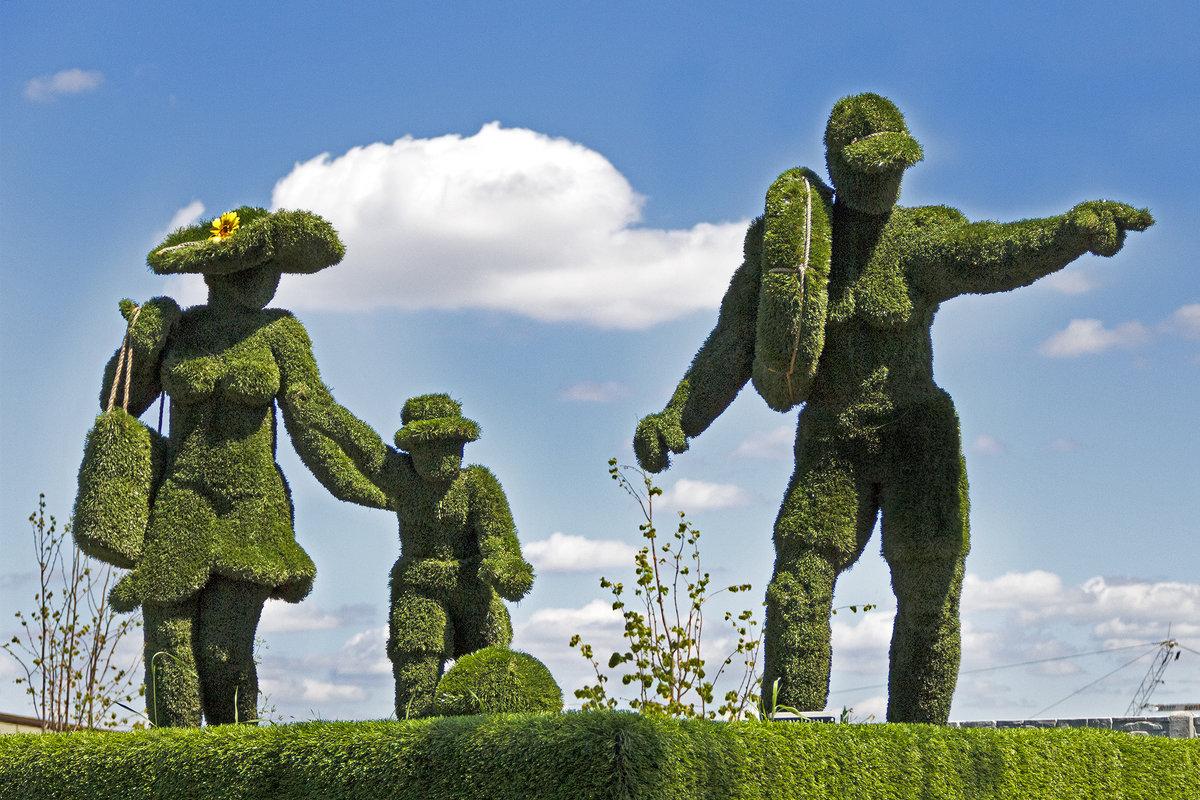 Фигуры из травы) - Лилия Масло