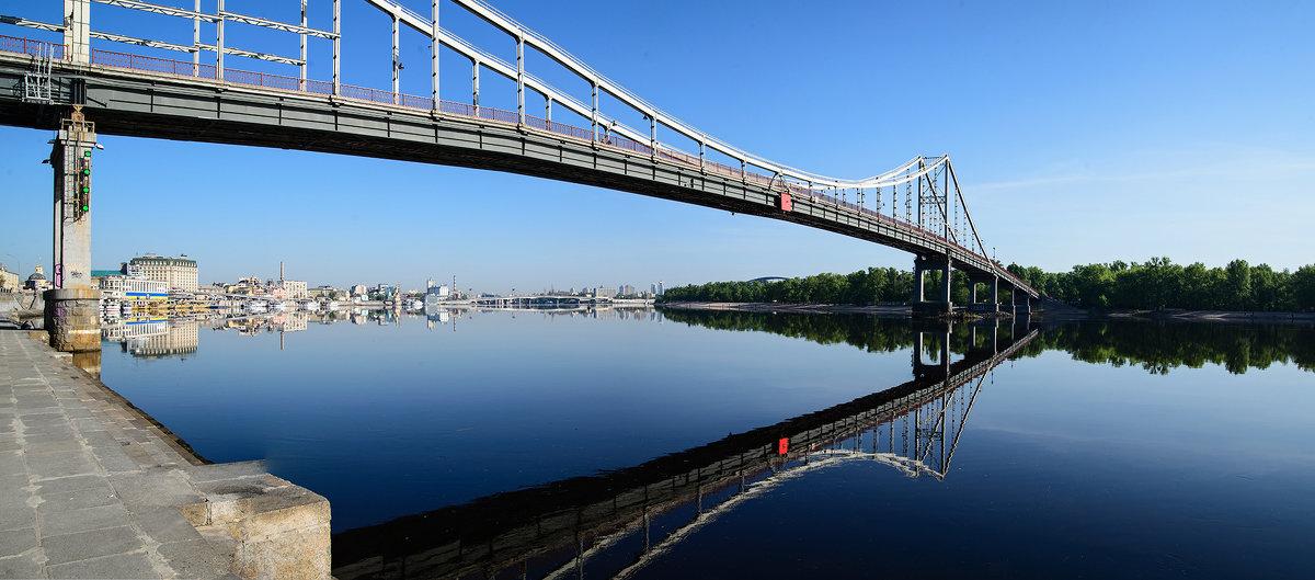 Пешеходный мост. Киев - Roman Globa