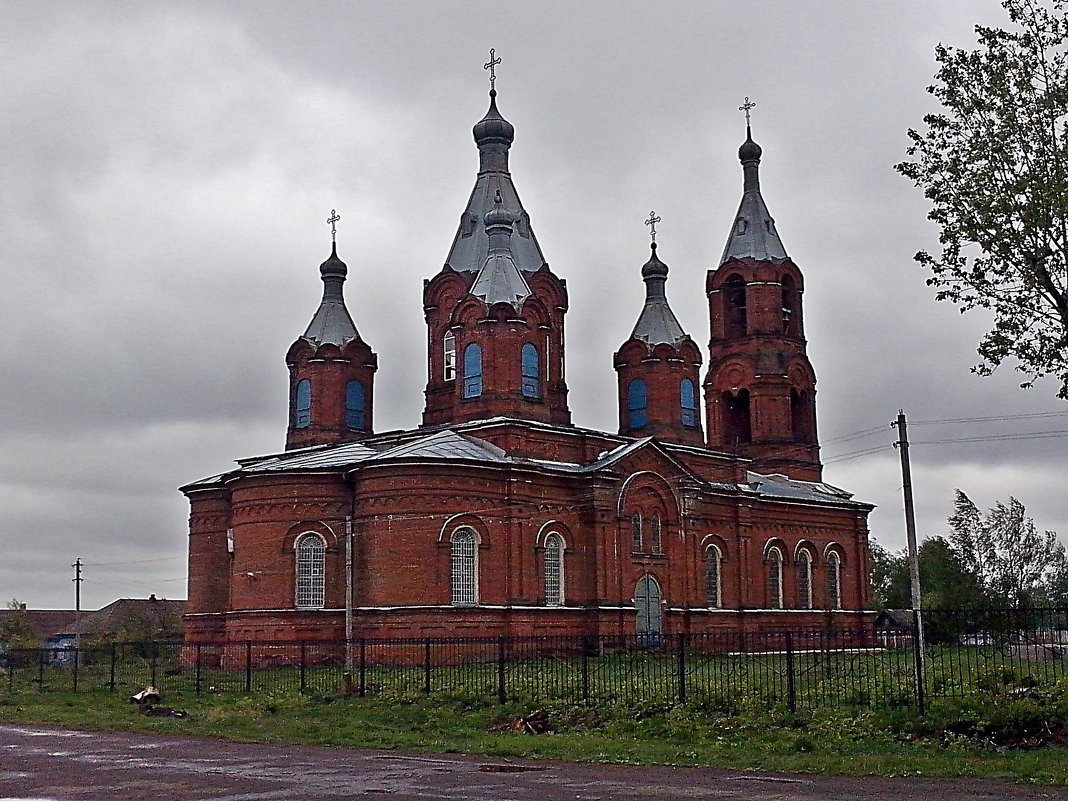 Сельский  Храм . - Виталий Селиванов