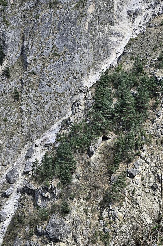 Суровые горы Осетии... - Мария Климова