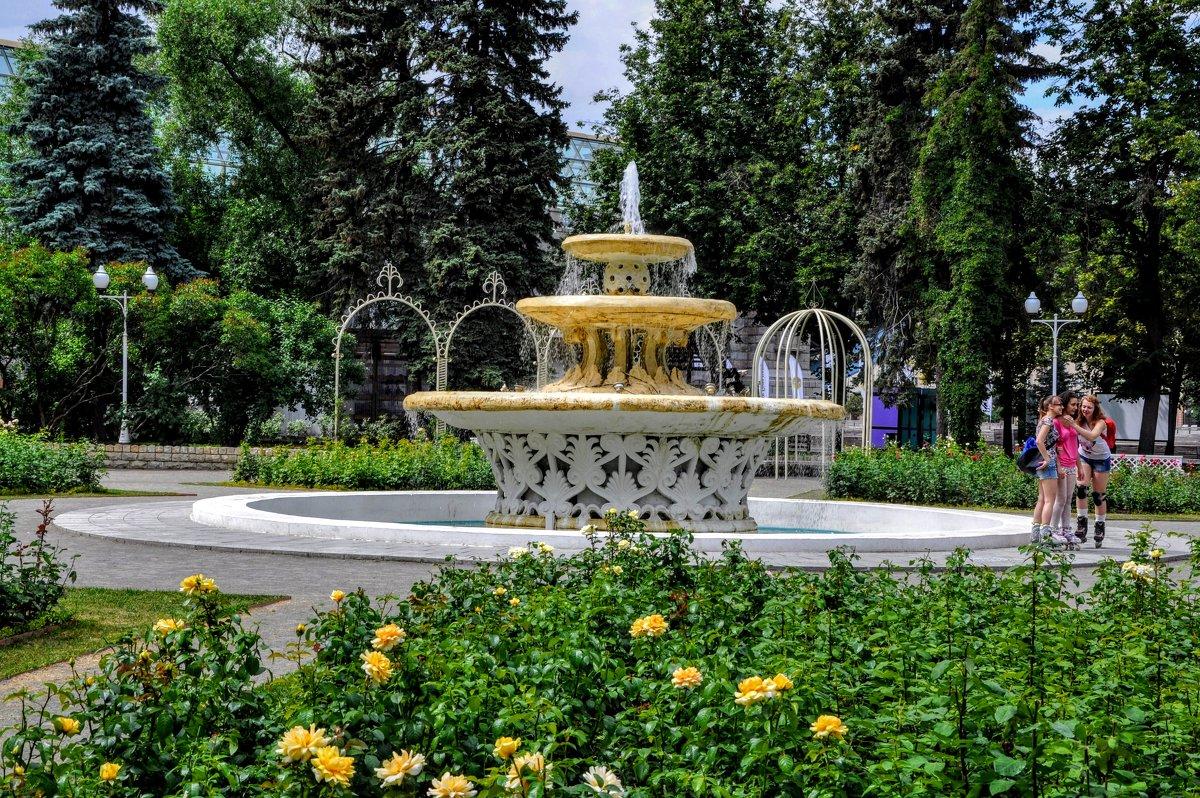 Старый советский фонтан... - Анатолий Колосов