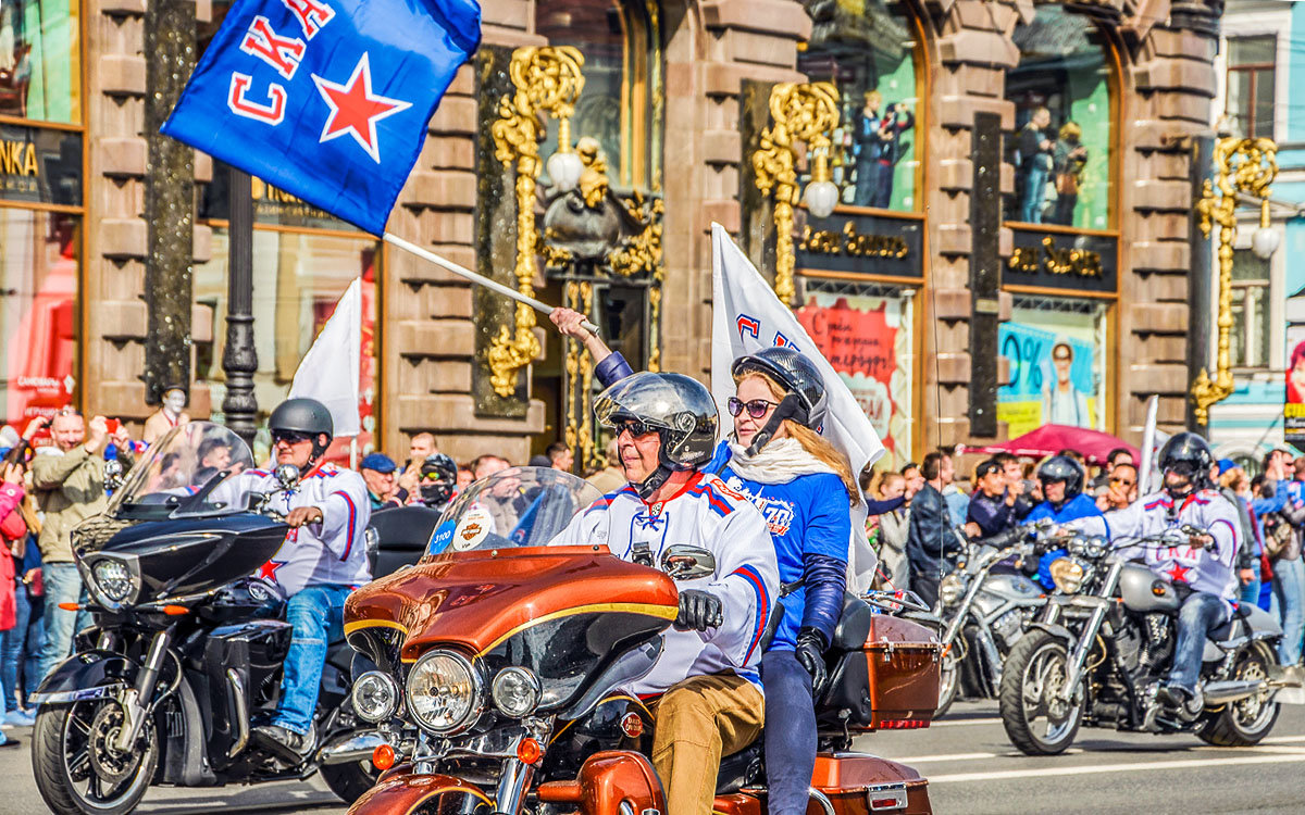 Чемпионский парад СКА 2017 - Valerii Ivanov