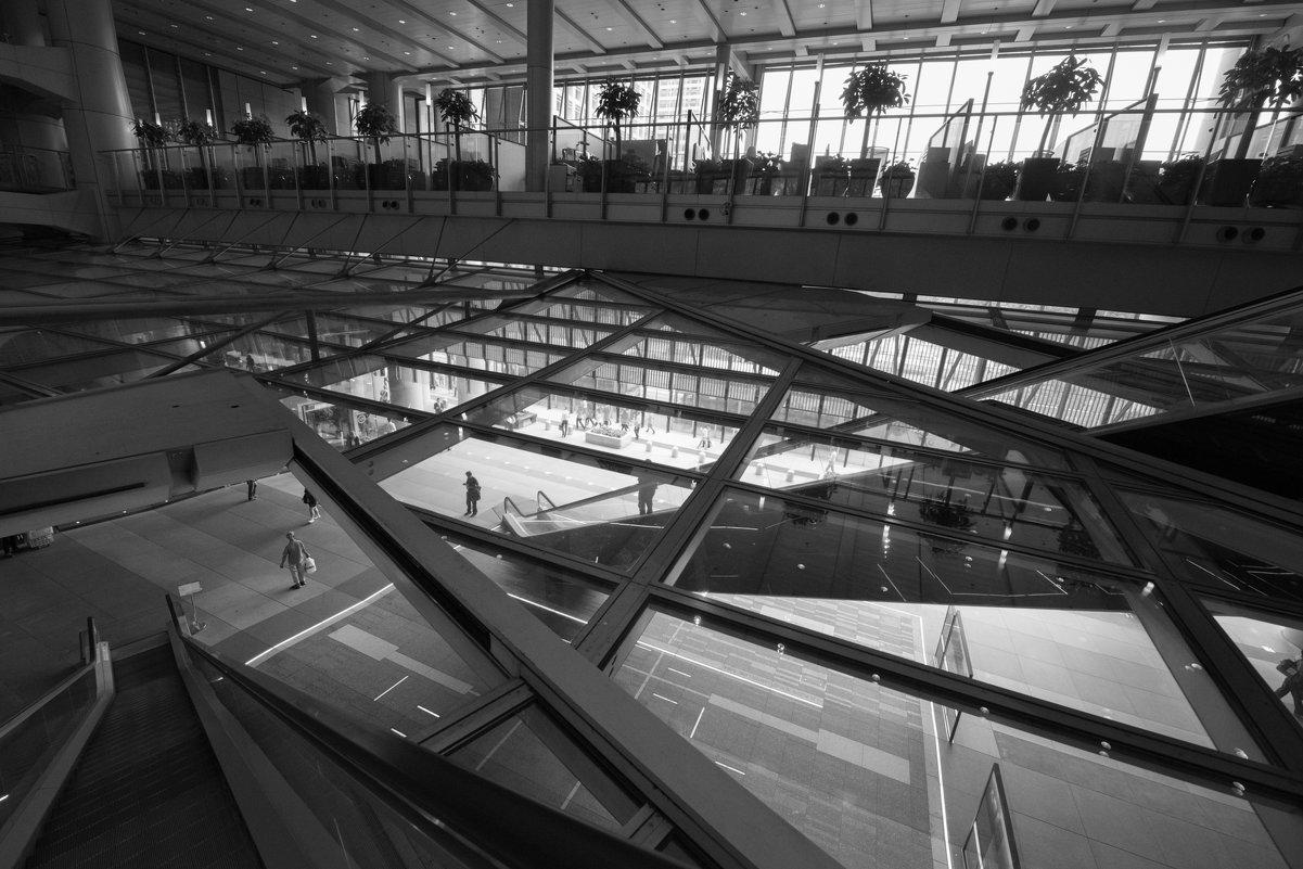 здание банка по проекту архитектора Нормана Фостера. Гонконг - Sofia Rakitskaia