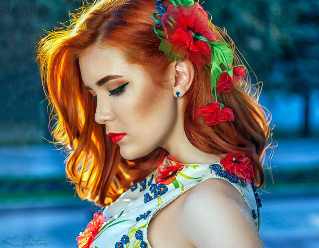 Девушка 1 - Kristina Ipatova